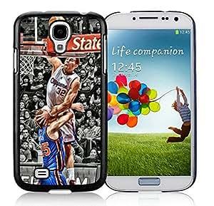 New Custom Design Cover Case For Samsung Galaxy S4 I9500 i337 M919 i545 r970 l720 LA Clippers Blake Griffin 1 Black Phone Case
