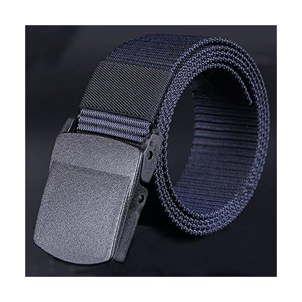 Firally Cintura in Pelle da Uomo Nuove Nero Cinture Casual Vintage Classiche con Fibbia Automatica 3 spesavip
