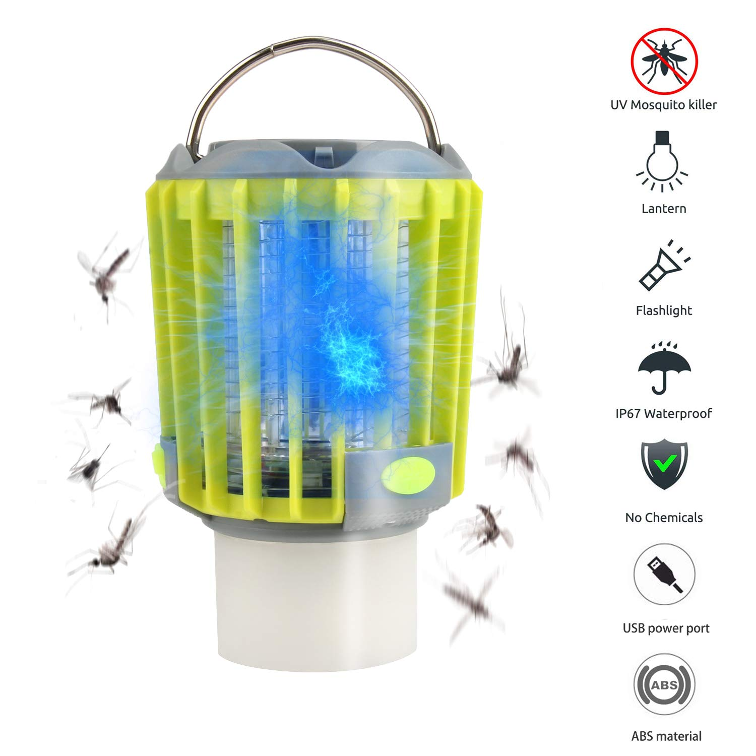 Camping Lantern, bedee Mosquito Zapper Tent Light