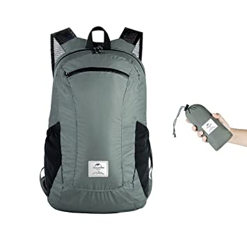 df46aa06c3e7 Image Unavailable. Naturehike Hiking Daypack 18L Packable Lightweight  Backpack