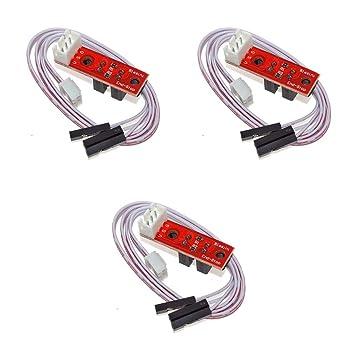 3Wthings - Interruptores ópticos para impresora 3D (3 unidades ...