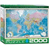 Eurographics Map of The World Puzzle (2000-Piece)