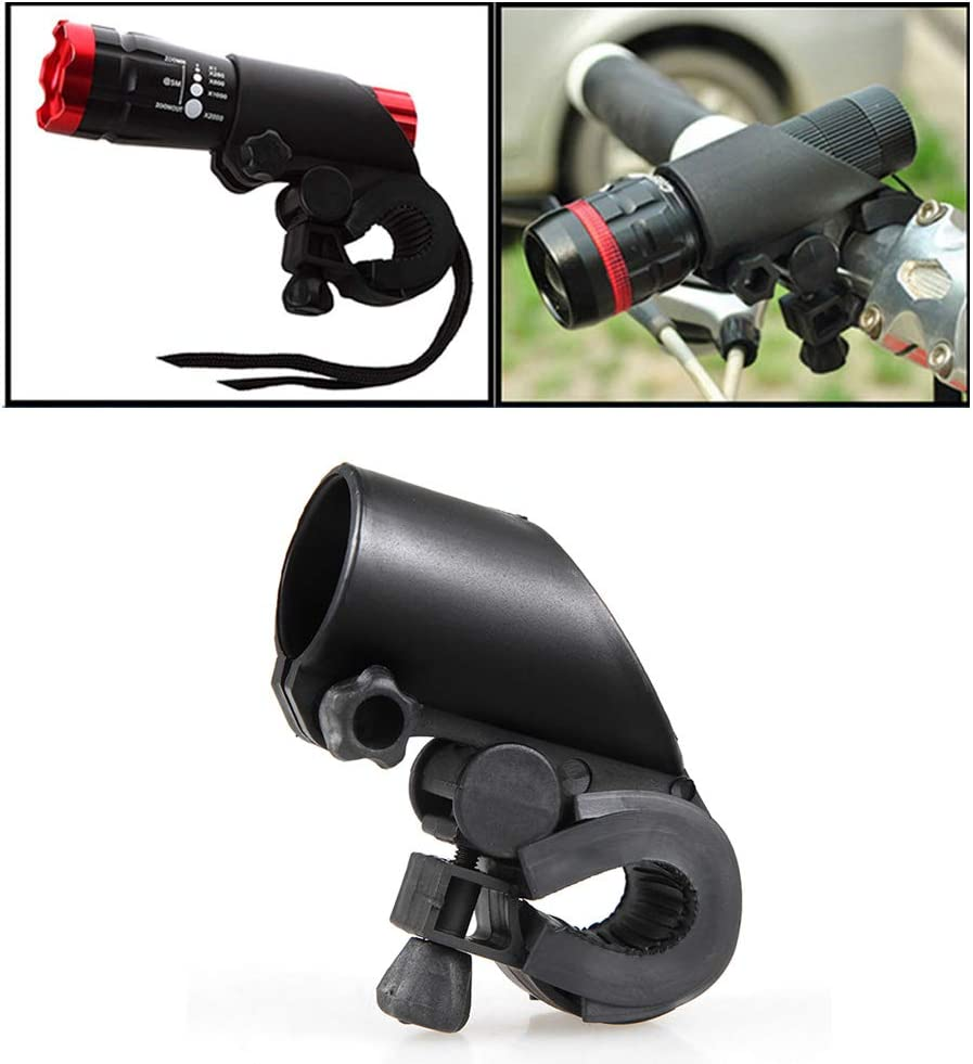 Aturmon Bicycle Flashlight Holder