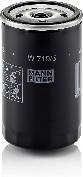 Original Mann Filter Ölfilter W 719 5 Für Pkw Und Nutzfahrzeuge Auto