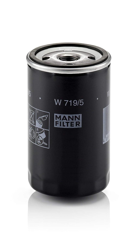 Original MANN-FILTER Filtre à huile W 719/5 – Pour véhicules particuliers et véhicules utilitaires