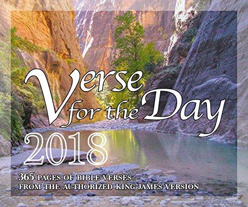 365 Bible Verse for the Day – All KJV Scripture Verses 2018 Calendar