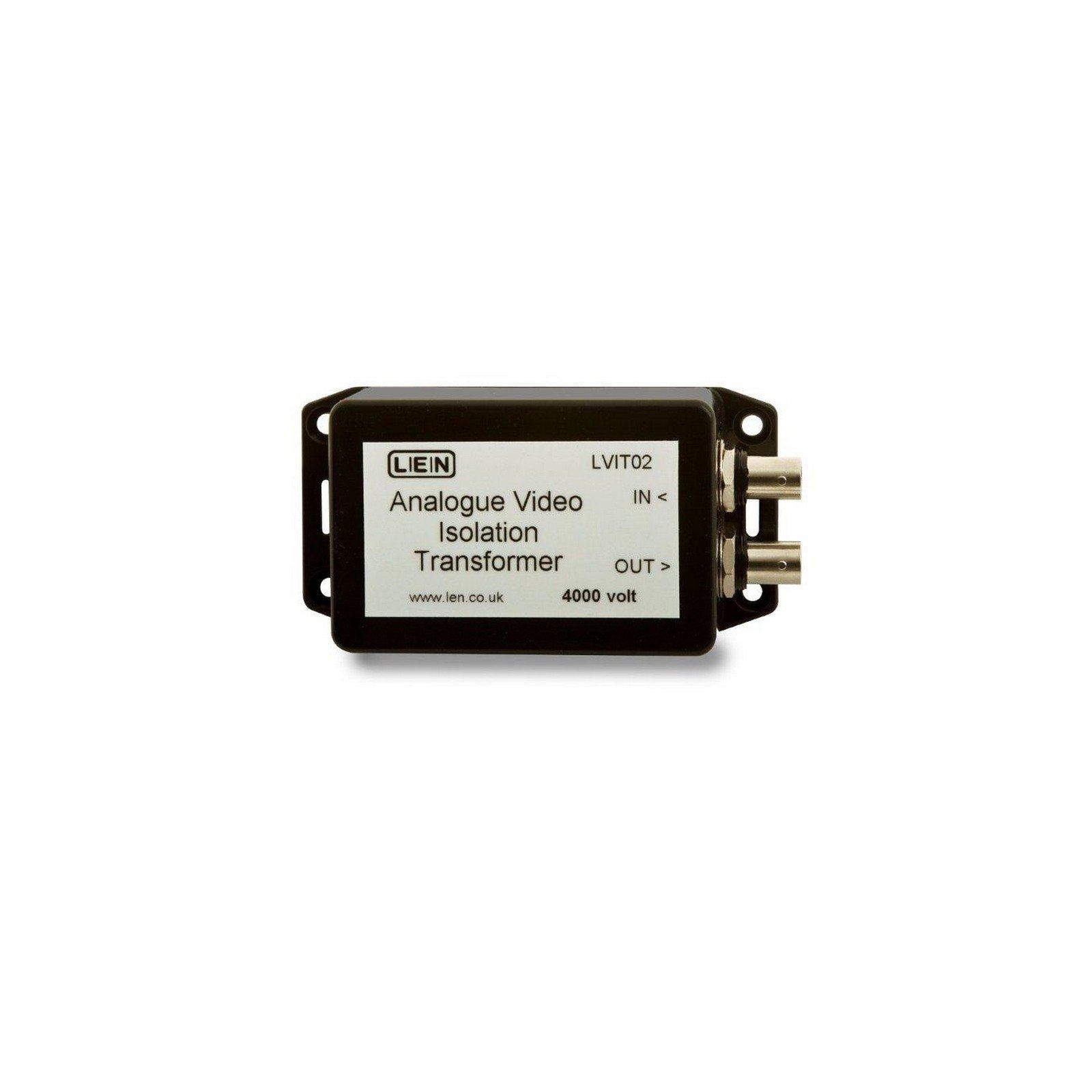 LEN LVIT02   Analog Video Hum Isolation Transformer Transparent PAL NTSC