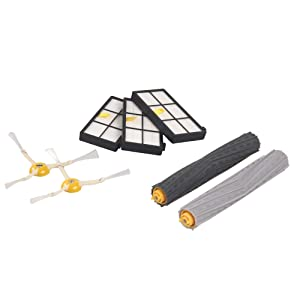 iRobot Roomba 800 and 900 Series Replenishment Kit Accessories, White