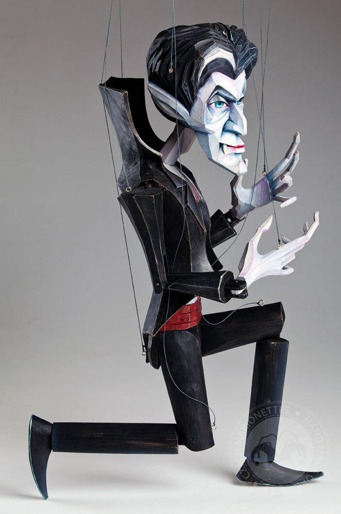 Vampire Barnabas January Czech Handmade Marionette Puppet by CzechMarionettes (Image #2)