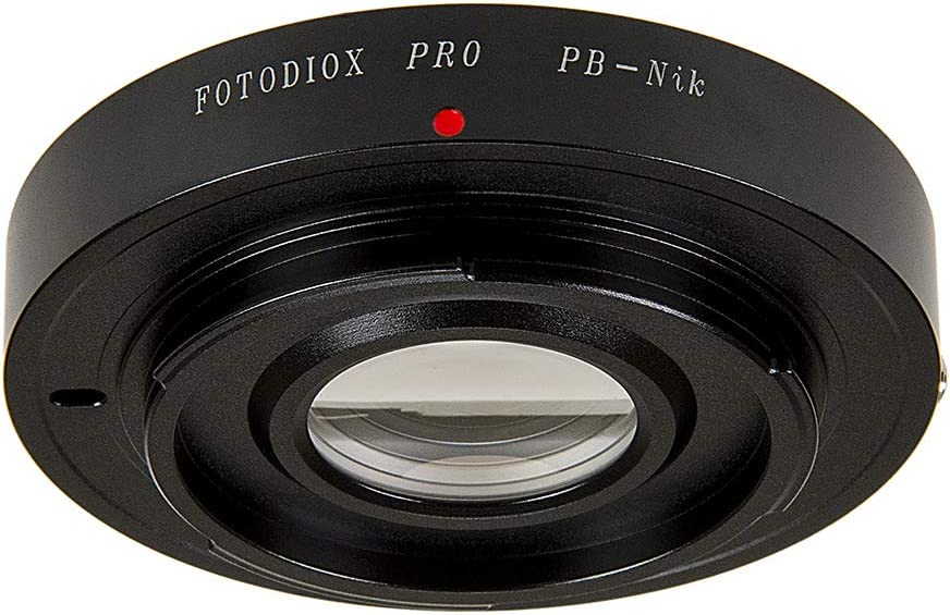 Fotodiox Aperture Control 52mm Filter Adapter for Nikon G//DX Lens in Reverse Mount for Macro Photography