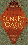 Front cover for the book Sunset Oasis by Bahaa Taher