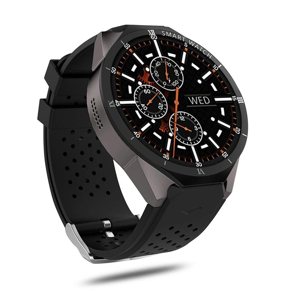 Reloj Inteligente, KINGWEAR KW88 Pro 3G Reloj Inteligente Android 7.0 1.3Ghz Quad-Core 16 GB WiFi GPS 2MP Cámara Monitor de frecuencia cardíaca 3G Reloj ...