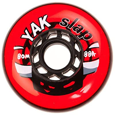 Yak 80mm x 88a Slap Hockey Wheel, 8 Wheels, Made in USA : Sports & Outdoors