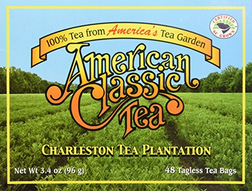American Classic Tea - Box of 48 tea bags (3.4 oz) by Charleston Tea Plantation
