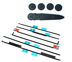 LeFix Replacement LCD Panel Adhesive Tape Strip Sticker + Opening Wheel Tool Kit for iMac (27-inch, Late 2012/2013/2014/15) A1419