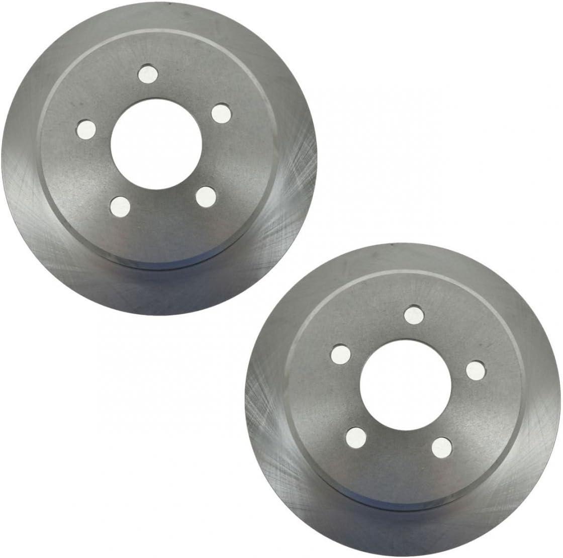 Rear Discs Brake Rotors Pair Set of 2 for 93-98 Jeep Grand Cherokee