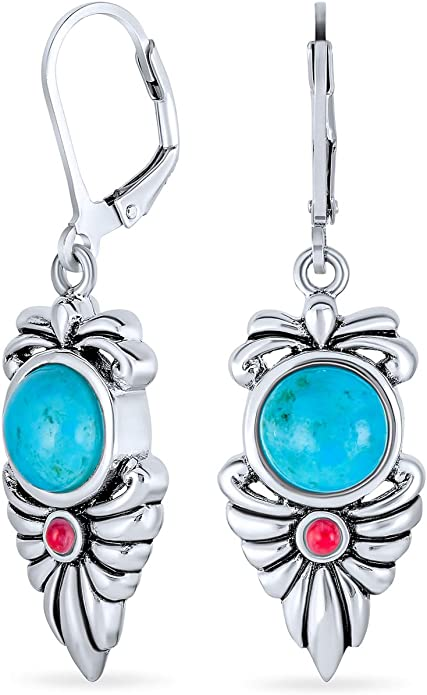 Wester Style Turquoise Earrings 3 Styles to Choose From! SALE