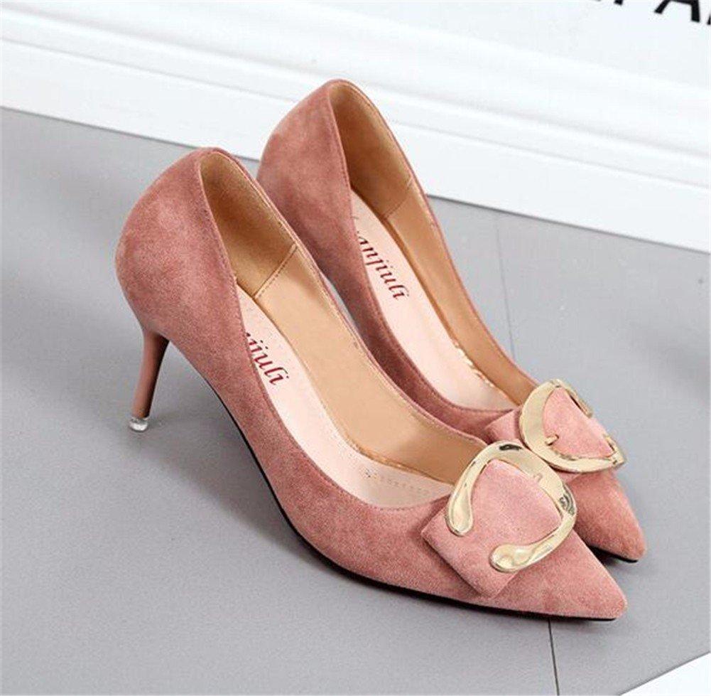 YUCH Chaussures Femmes de Bouche Peu Profondes À Fond Plat Conseils Occasionnels Chaussures Confort Paresseux,Black,36