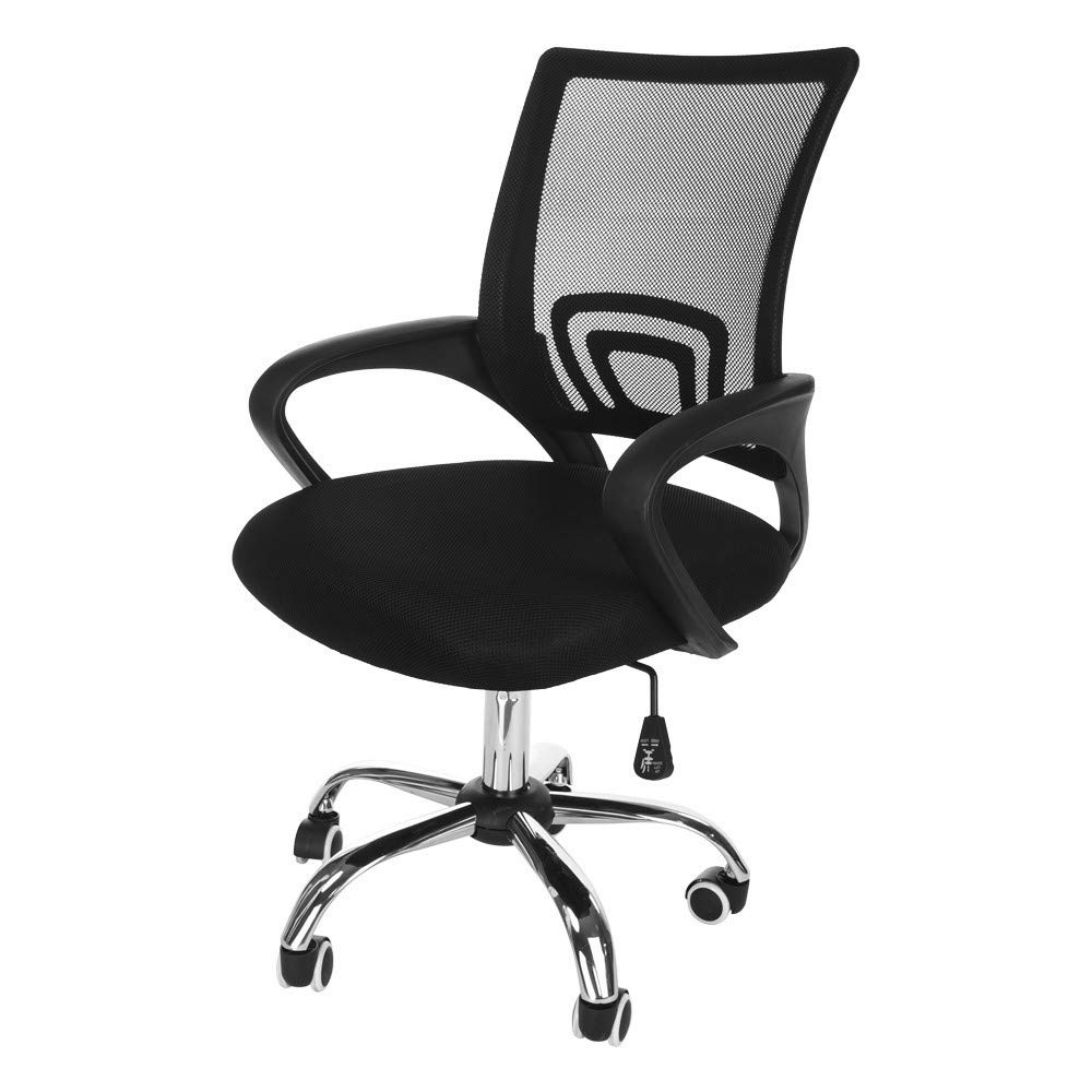 QIANSKY Ergonomic Adjustable Office Chair - Fashion Computer Task Office Desk Chair with Swivel Casters - Liftable Home Computer Network Chair,High Back with Breathable Mesh - Thick Seat Cushion (B) by QIANSKY