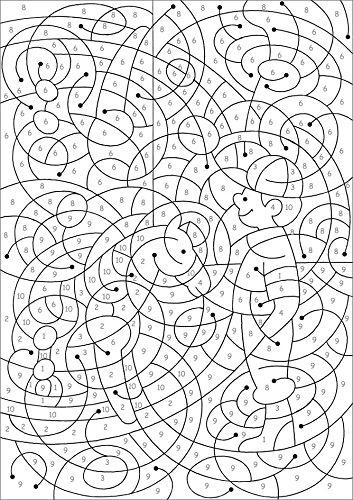 Malen Nach Zahlen Ab 8 Jahren Ausmalen Zahlen Und Zählen üben