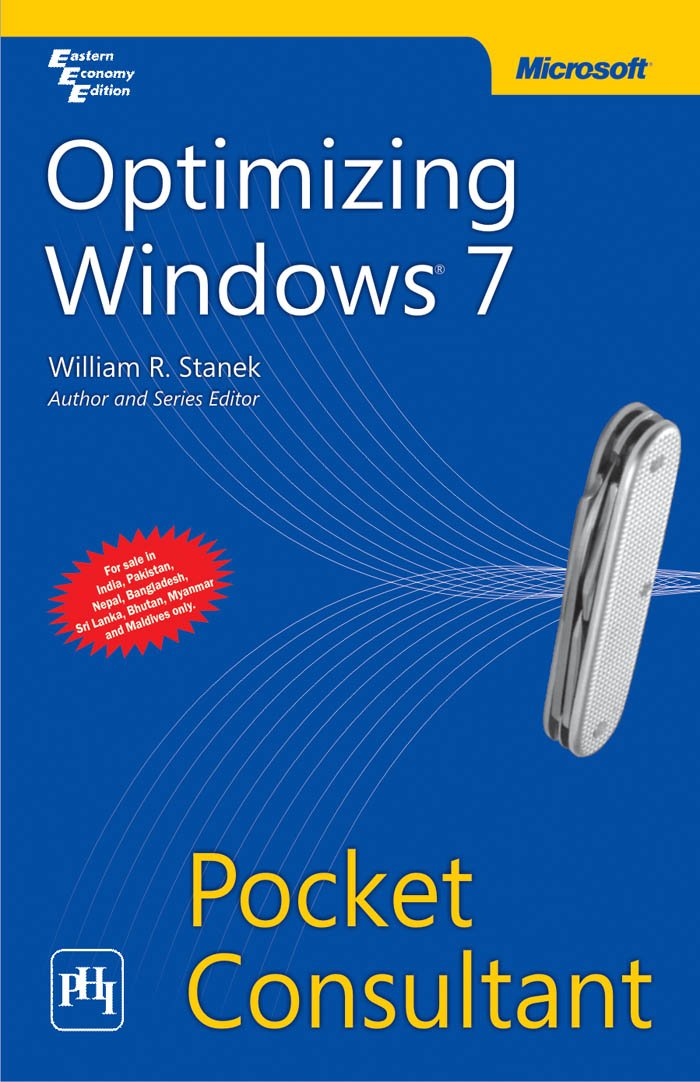 Download Optimizing Windows 7: Pocket Consultant PDF