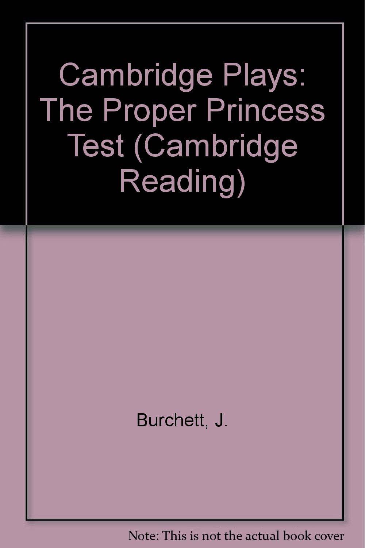 Download Cambridge Plays: The Proper Princess Test (Cambridge Reading) pdf