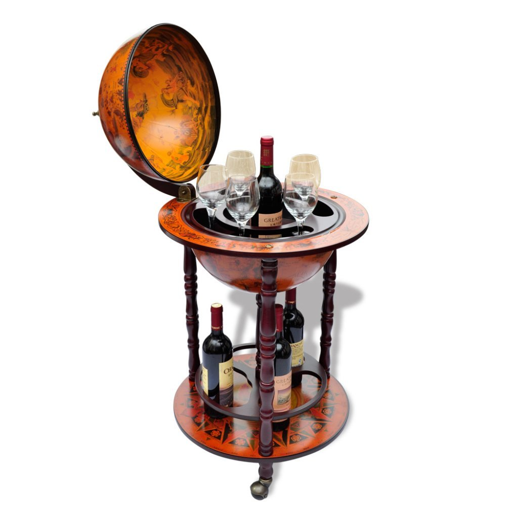 Anself globe bar wine container bottle glasses holder amazon anself globe bar wine container bottle glasses holder amazon kitchen home gumiabroncs Image collections