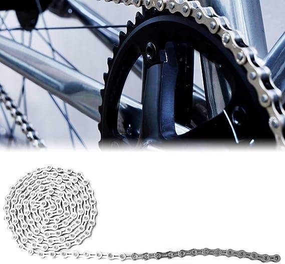 VGEBY1 Cadena de Bicicleta, eslabones de Cadena de Acero ...