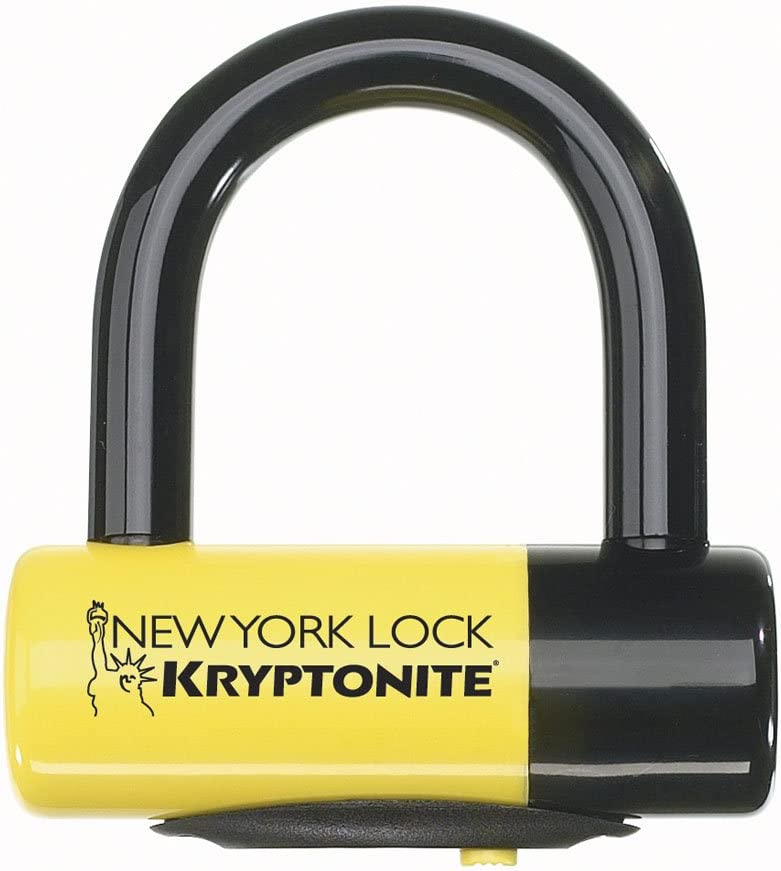 / avec rappel C/âble/  Kryptonite New York liberty Cadenas /à disque/  / Jaune
