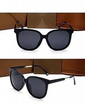 Grandes Gafas de Sol Polarizadas Mujer Marco Mujer Marco Gafas de Sol de Conducción Lentes Negros de Marco Gris: Amazon.es: Deportes y aire libre