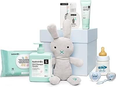 Suavinex - Canastilla de regalo baby shower para recién nacido con ...