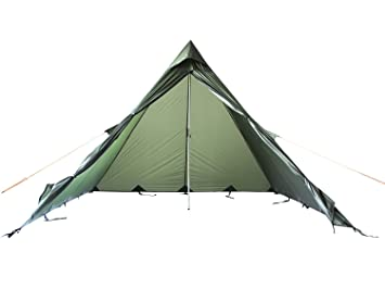 FIBEGA Ultralight Pyramid tent / Tipi made of Silnylon for 2 persons - OD  sc 1 st  Amazon UK & FIBEGA Ultralight Pyramid tent / Tipi made of Silnylon for 2 ...