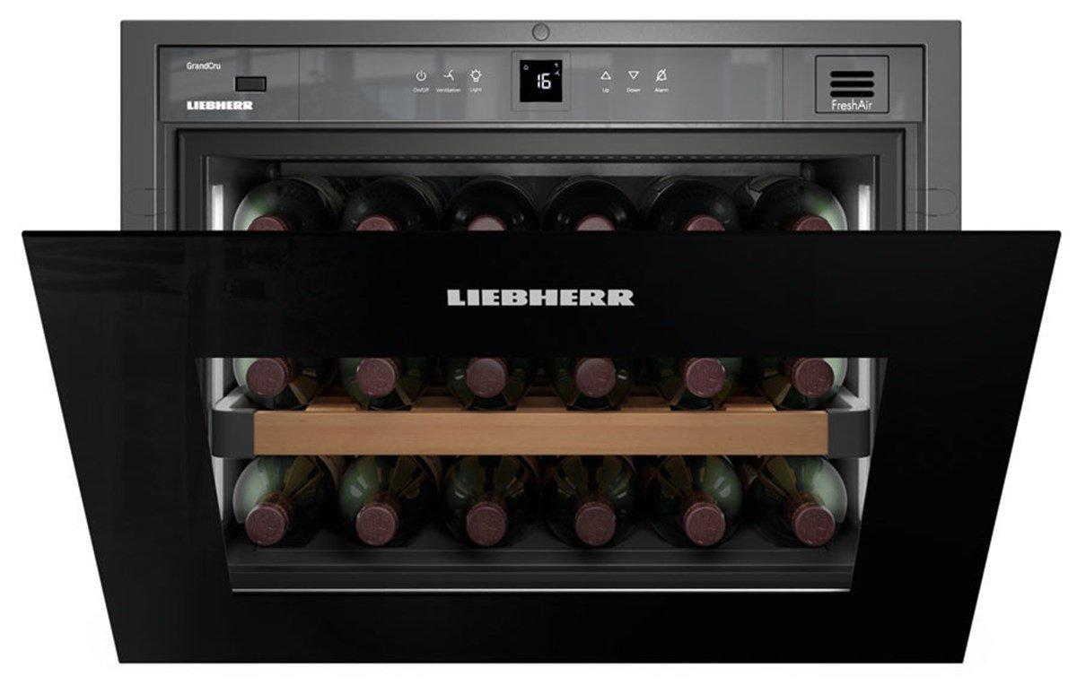 Liebherr wkegb 582 GrandCru Built-in Thermoelectric Wine Cooler ...