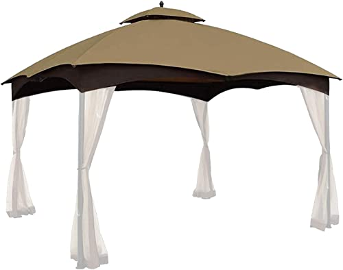 Gafrem Gazebo Tent Replacement Canopy Top