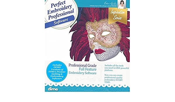 Amazon com: DIME Designs in Machine Embroidery Professional