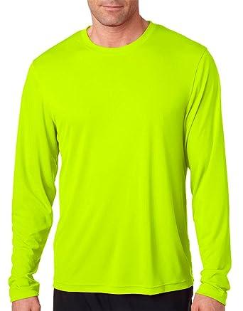 Mens Long Sleeve Yellow Shirt