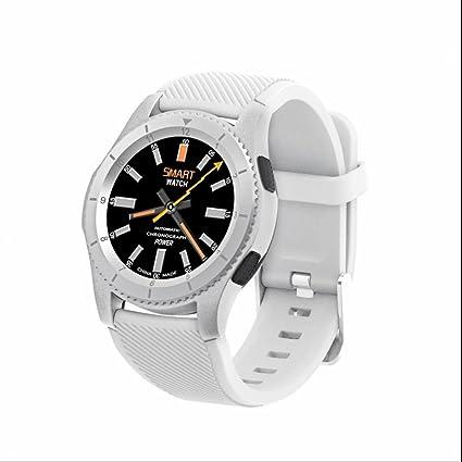 Smart Watch Intelligent Teléfono Reloj con Alertas de mensajes,Monitor de Ritmo Cardíaco y Sueño