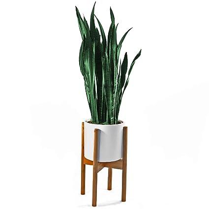 Completely new Amazon.com : FOX & FERN Mid-Century Modern Plant Stand  RW56