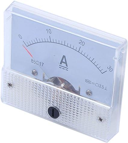 amperometro analogico con shunt Misuratore 0-1 a DC per l/'installazione