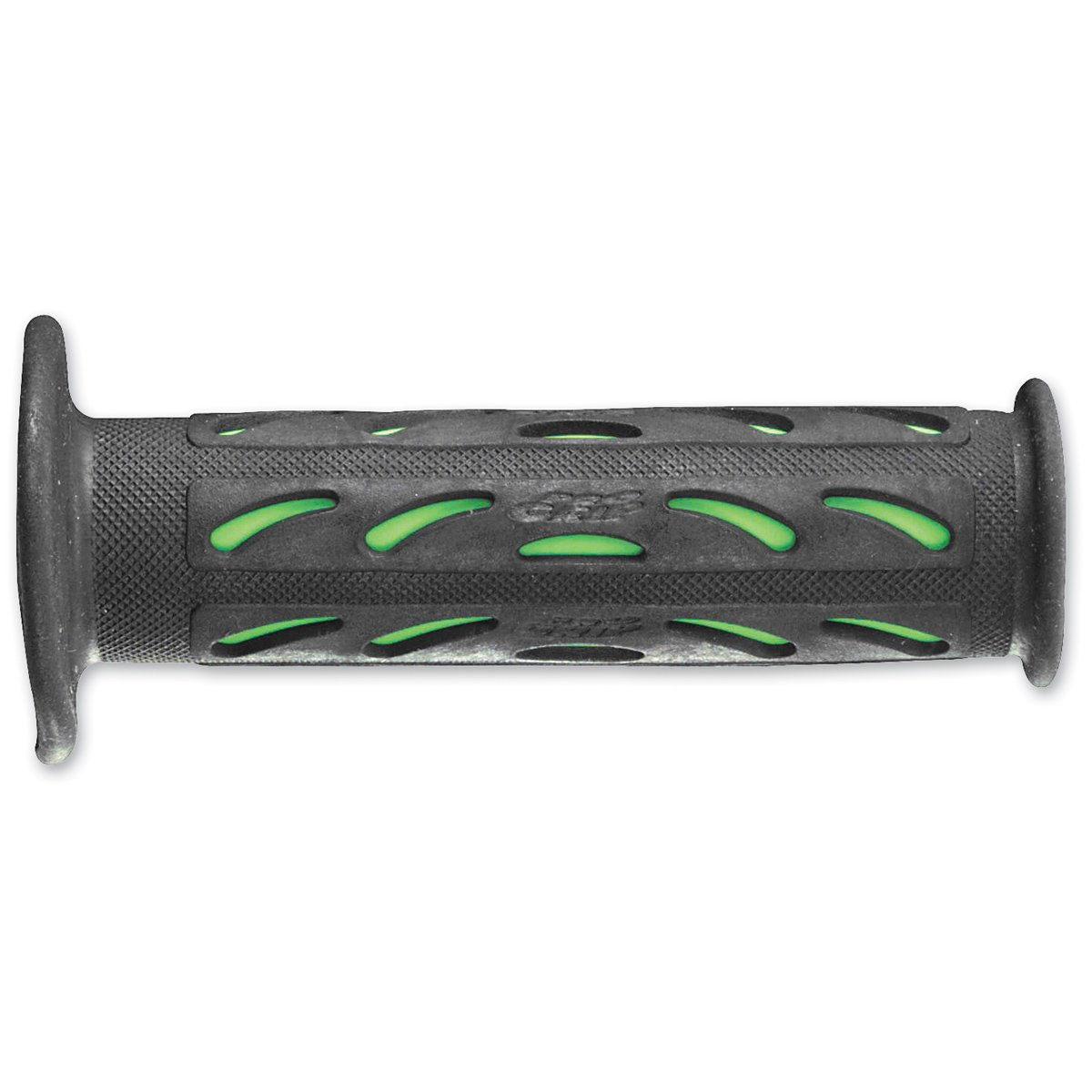 Black//Green Pro Grip Superbike 724 Duo Density Road Grips 120mm