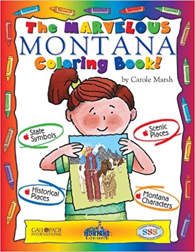 The Marvelous Montana Coloring Book! (Montana Experience)