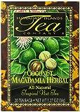 Hawaiian Islands Tea, Coconut Herbal, 1.27-Ounce Boxes (Pack of 6)