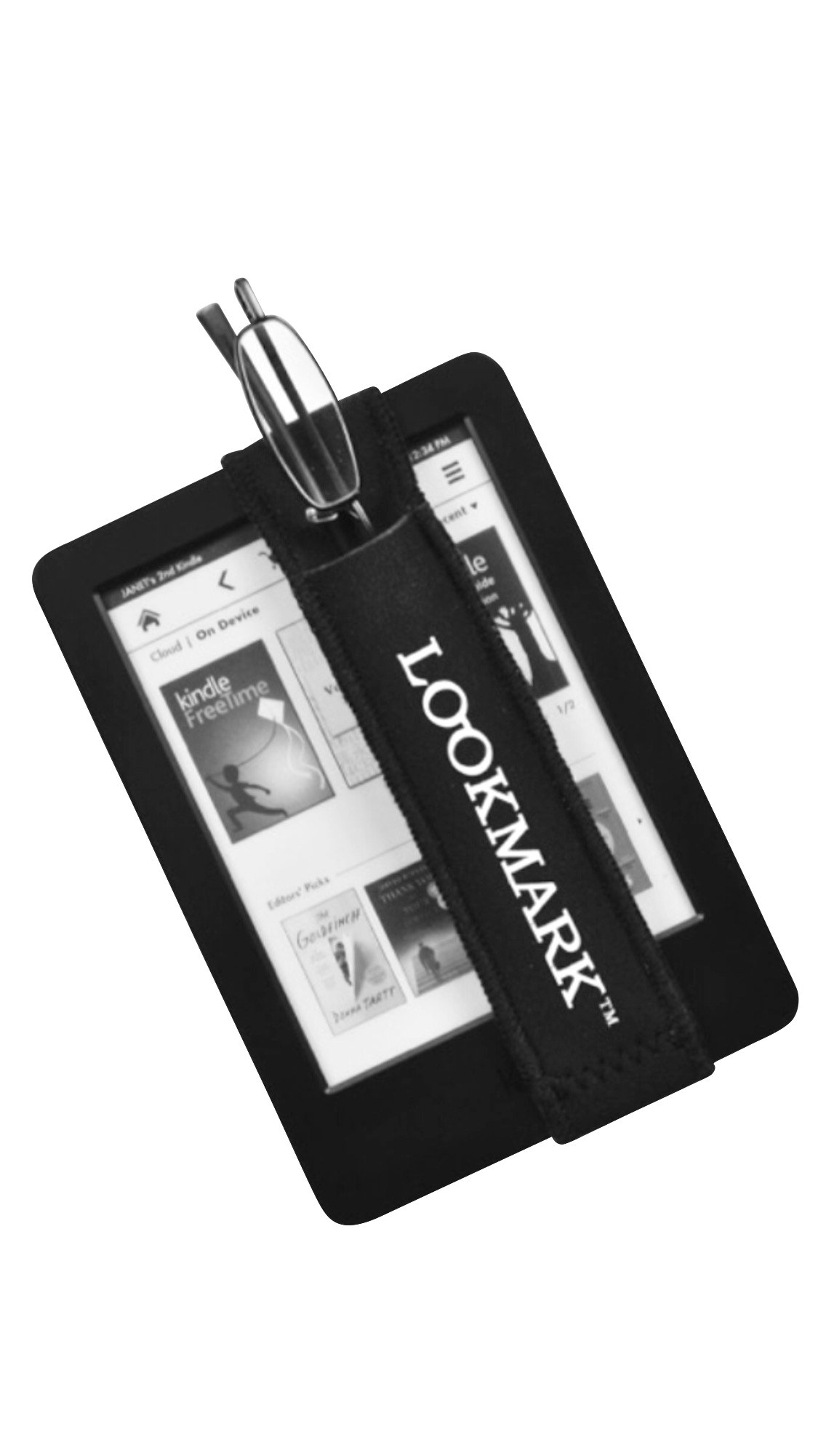 Tablet Accessory-Reading Glasses with Holder Band to Fit Tablet In Powers +1.00, +1.50, +2.00 and +2.50 (2.50)
