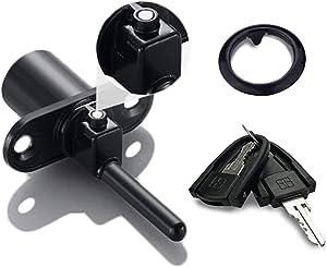 Zinc Alloy Office Desk Lock, XIEHE 288 Central Lock Office Furniture Drawer Lock Cabinet Locker with 2 Keys 16mm