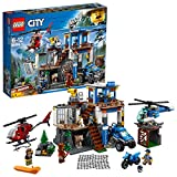 LEGO UK 60174 City Police Mountain Headquarters Set