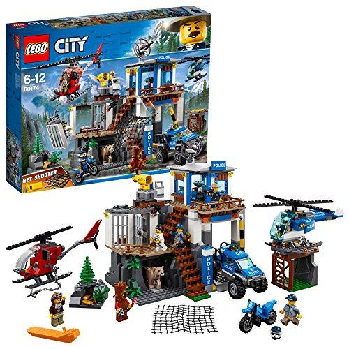 레고(LEGO) 씨티 산의 폴리스 지령 기지 60174