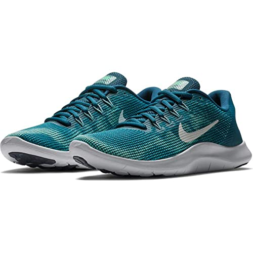 2e566c3abef3 Image Unavailable. Image not available for. Color  Nike Women s Flex 2018  RN Blue Force White-Ocean Bliss-Smokey Blue Running