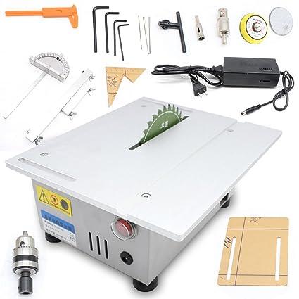 Mini Precision Table Saw Blade Diy Woodworking Cutting Machine T5