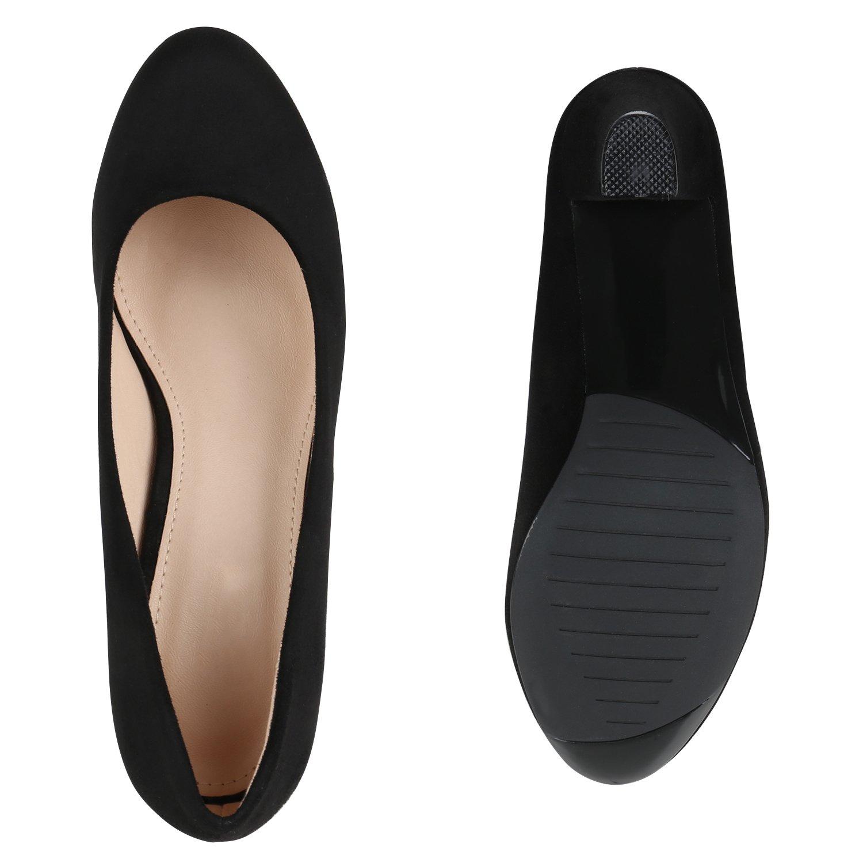 Stiefelparadies Damen Klassische Pumps Flandell Modell Schwarz Amares 2018 Letztes Modell Flandell  Mode Schuhe Billig Online-Verkauf f16bc3