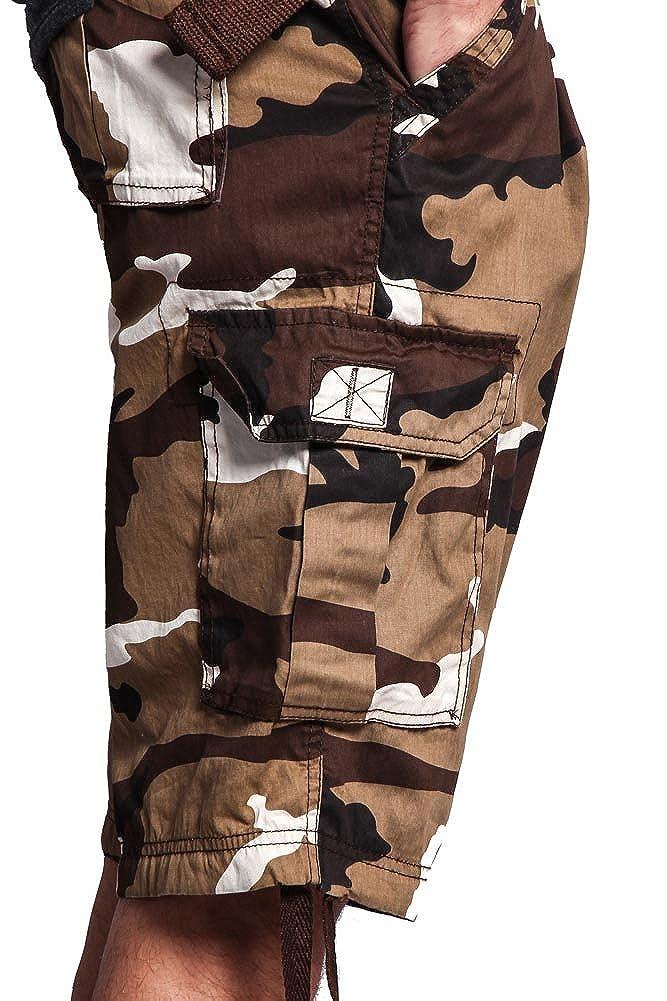 8caf04af69 G-Style USA Men's Ripstop Belted Cargo Shorts [1541003899-260656 ...